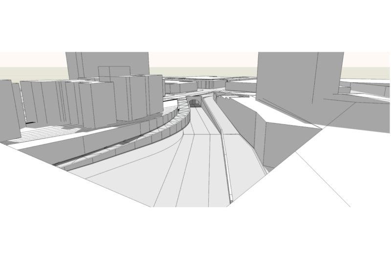 Gare des Gobelins / Immobilier complexe